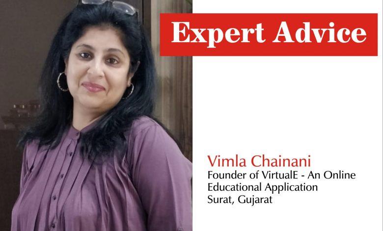 Vimla Chainani, Founder of VirtualE - An Online Educational Application