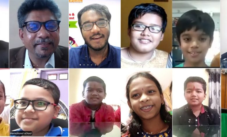 """The Winners of the """"India's largest Online Abacus Competition National Prodigy 2021"""""""
